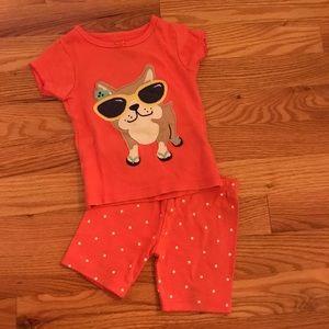 🐶Carter's 2 Piece Pajama Set